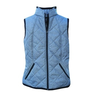Professionals Choice Vest Women Quilted Water Repellent Charcoal LVEST