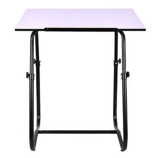 Gymax Adjustable Drafting Table Studio Smart Drawing Crafting Art Craft Desk