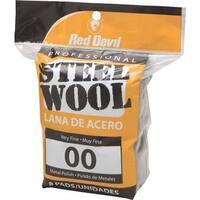 Red Devil 8Pk #00 Steel Wool 0322 Unit: PKG