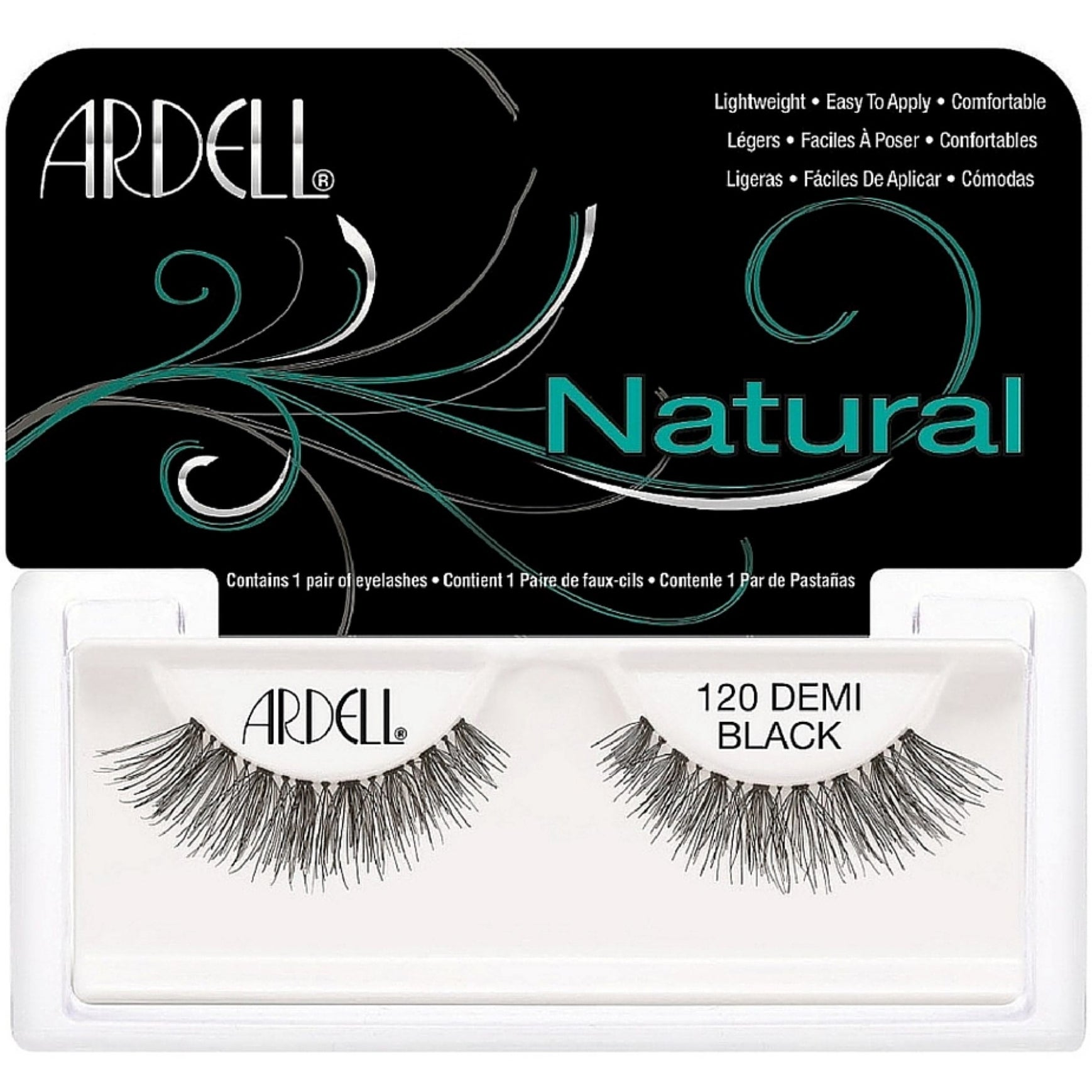 db36dec52c9 Shop Ardell Fashion Lashes Natural Strip Lash, Demi Black [120] 1 ea - Free  Shipping On Orders Over $45 - Overstock - 12077169