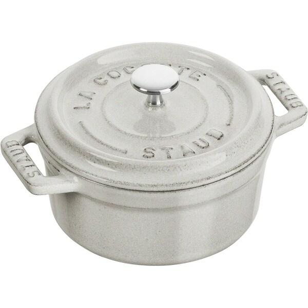 Staub Cast Iron 0.25-qt Mini Round Cocotte. Opens flyout.