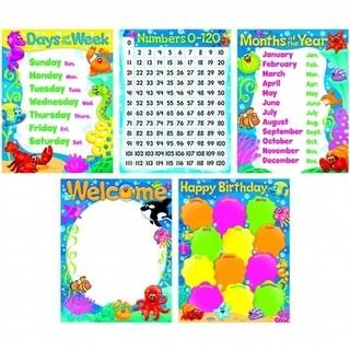Classroom Basics Sea Buddies Learning Charts Combo Pack