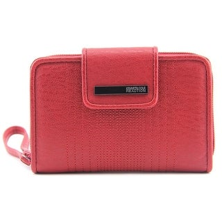 Kenneth Cole Reaction PDA Wristlet Women Synthetic Red Wristlet