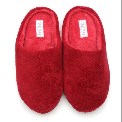 Womens Slippers Slip On Cozy Indoor Comfortable Plush Clog Shoes