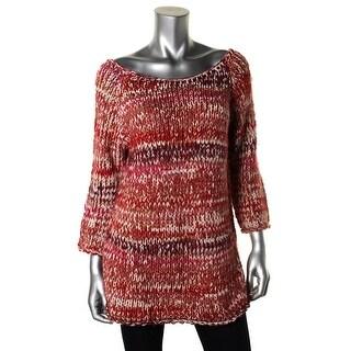 Zara Knit Womens Wool Blend Boatneck Pullover Sweater