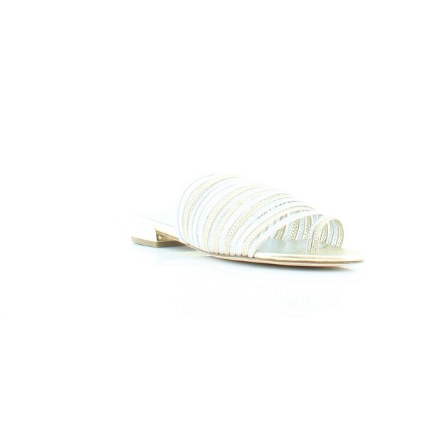 Donald J Pliner Frea Women's Sandals & Flip Flops Silver/Platino - 10