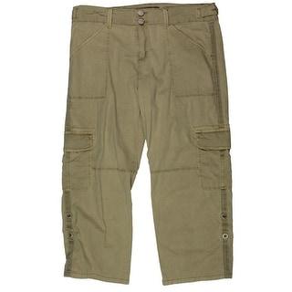 Sanctuary Womens Cargo Pants Crop Pockets