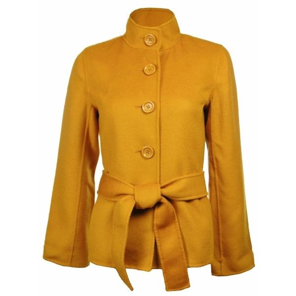 Sutton Studio Women's Cashmere & Wool Flare Sleeve Jacket Petites. Opens flyout.