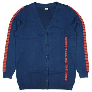 Her Universe Star Wars Han Solo Blood Striped Womens Cardigan (Option: 5x)