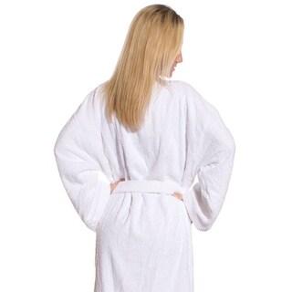 100% Cotton Terry Bathrobe. Several Color Choices. Men or Women's Top Quality Bathrobes