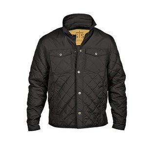 StS Ranchwear Western Jacket Mens Cassidy Quilted Light Black STS9772