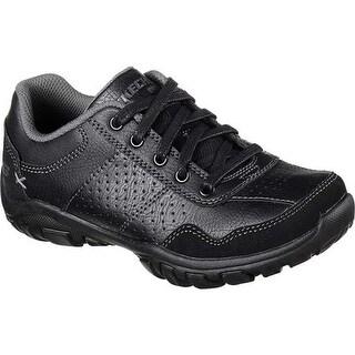 Skechers Boys' Relaxed Fit Grambler II Sneaker Black