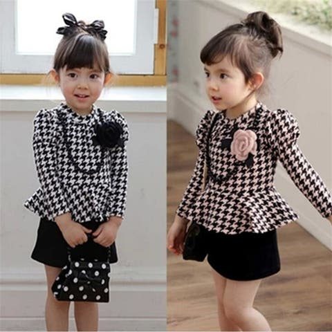 Korean Style Baby Kid Wear New Fall Dress