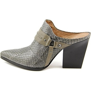 Donald J Pliner Vero W5 Soft Gray Mule Shoes
