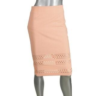 Elizabeth and James Womens Cutout High Waist Pencil Skirt - 4