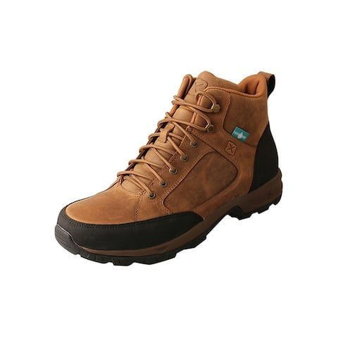 Twisted X Outdoor Boots Mens Hiker Waterproof Leather Tan