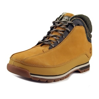 Timberland Euro Dub Men  Round Toe Leather Tan Boot