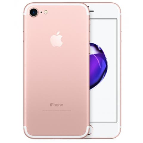 Apple iPhone 7 32gb Rose Gold Unlocked Refurbished - Rose Gold