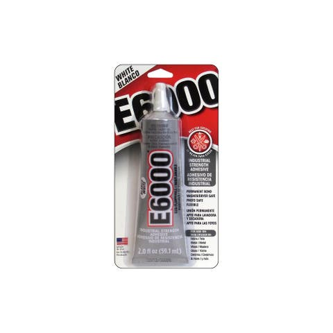 Eclectic E6000 Adhesive 2oz Card White