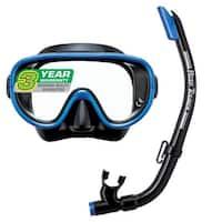 Reef Tourer Adult Single-Window Mask & Snorkel Combo Set