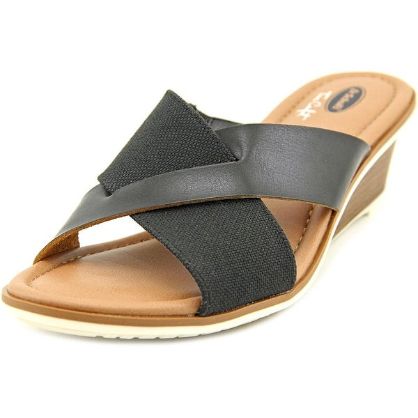 348135e6bb36 Shop Dr. Scholl s Gilly Women Open Toe Canvas Wedge Sandal - Free ...