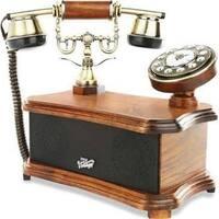 2-in-1 Retro Vintage Style Home Landline Telephone & Bluetooth