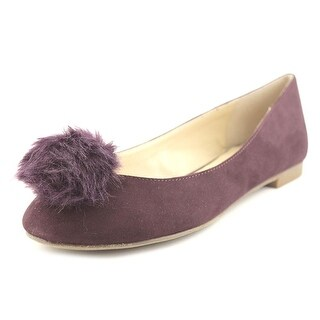 Charles By Charles David Danni Women Round Toe Synthetic Burgundy Flats