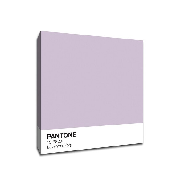 Lavender Fog - Pantone - 16x16 Gallery Wrapped Canvas Wall Art