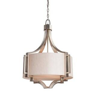 Artcraft Lighting SC1563 Lexington 3 Light Drum Chandelier - 24 Inches Wide