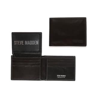 2bf82b7b19d Quick View. $15.99. Steve Madden Genuine Leather Bifold & Trifold Wallets