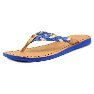 Ugg Australia Navie Women Open Toe Leather Flip Flop Sandal