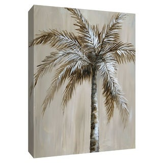 "PTM Images 9-148727  PTM Canvas Collection 10"" x 8"" - ""Palm Magic II"" Giclee Palm Trees Art Print on Canvas"