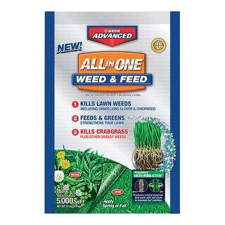 Bayer Advanced 704416T All In One Weed And Feed, 12 Lb