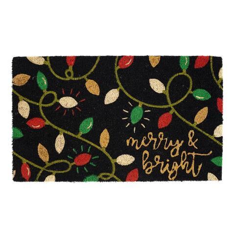 DII Christmas Holiday Doormat
