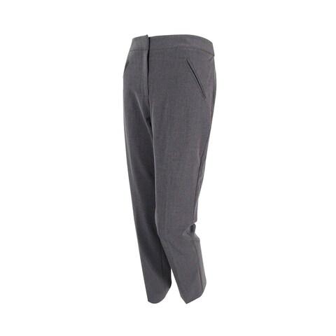 Tahari Women's 'Kevin' Welt Pocket Skinny-Leg Trousers