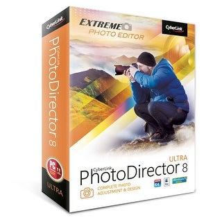 CyberLink PhotoDirector 8 Ultra for Windows-Mac