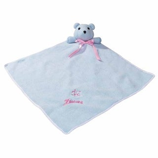 Zanies Snuggle Bear Puppy Blanket - Baby Blue - One Size