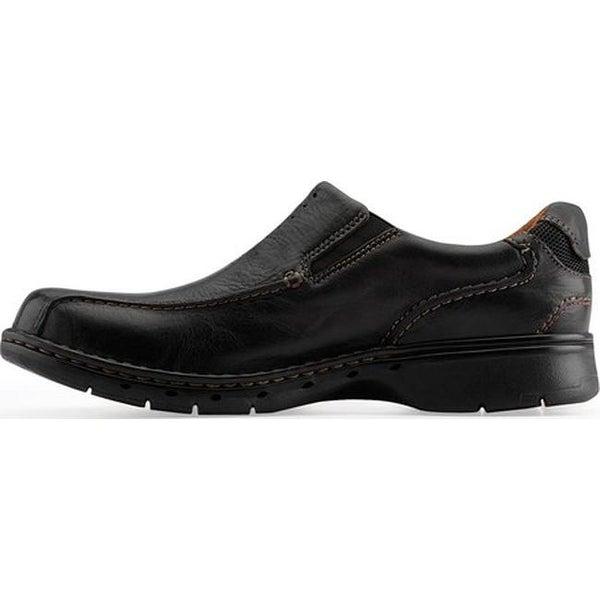 Clarks Men's Un.Seal Black Leather