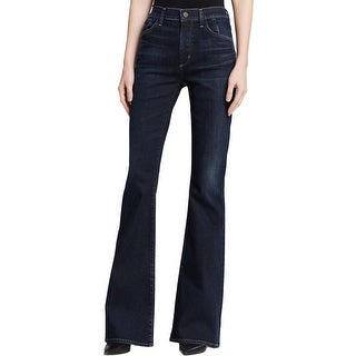 Citizens of Humanity Womens Fleetwood Flare Jeans High Rise Ritual Wash