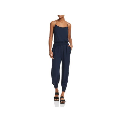 Theory Womens Jumpsuit Silk Stretch - P