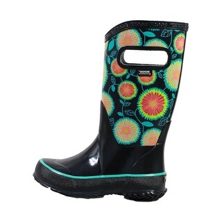 Bogs Outdoor Boots Girls Wildflowers Waterproof Rubber 72190