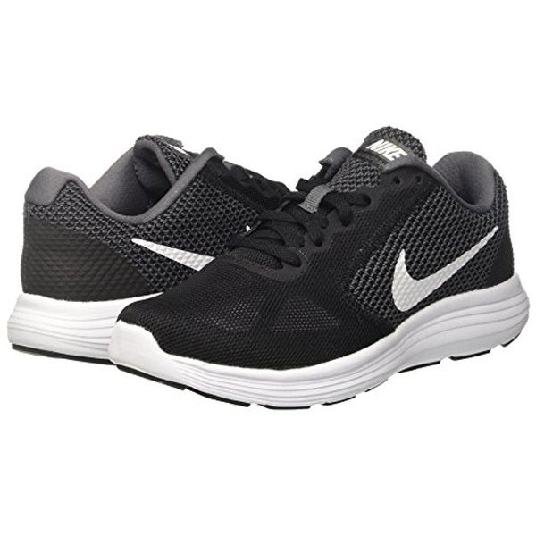 nike womens revolution 3 running shoe black
