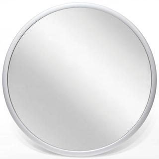 Argento 22 inch Silver Round Hanging Mirror