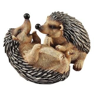 Design Toscano Hyper Hedgehogs Garden Statue