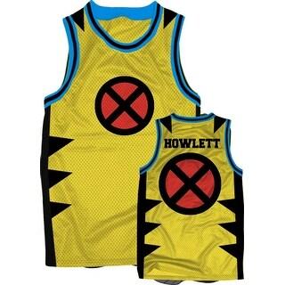 X-Men Wolverine Men's Yellow Jersey