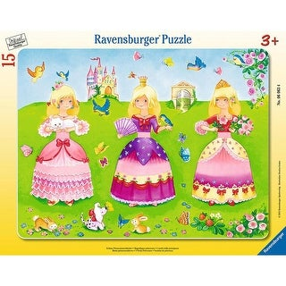Ravensburger 3 Pretty Princesses - My First Frame Puzzle