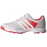 bd7da385fbf4 New Adidas Women s Tech Response Clear Grey White Core Pink Golf Shoes  Q44710