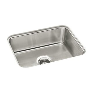 "Sterling 11447 McAllister 24"" Single Basin Undermount Stainless Steel Kitchen Sink with SilentShield"