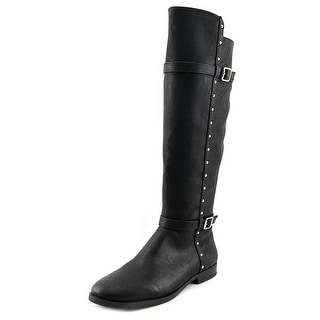INC International Concepts Ameliee Round Toe Synthetic Knee High Boot