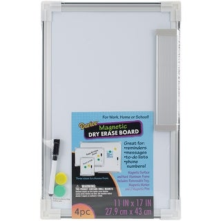 """Magnetic Dry-Erase Board 11""""X17""""-"""